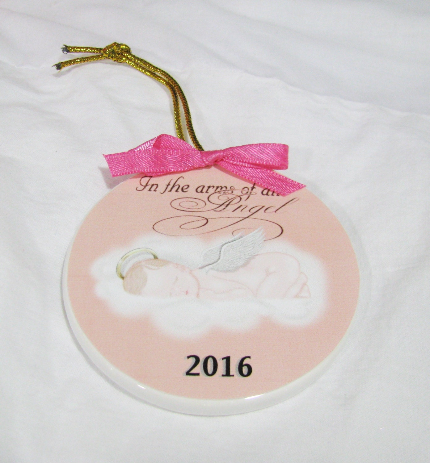 In Memory Christmas Ornament Miscarriage Memorial Baby Loss ...