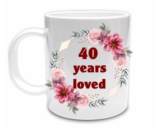 40th Birthday Gifts for Women, Birthday, Best Friend Gift