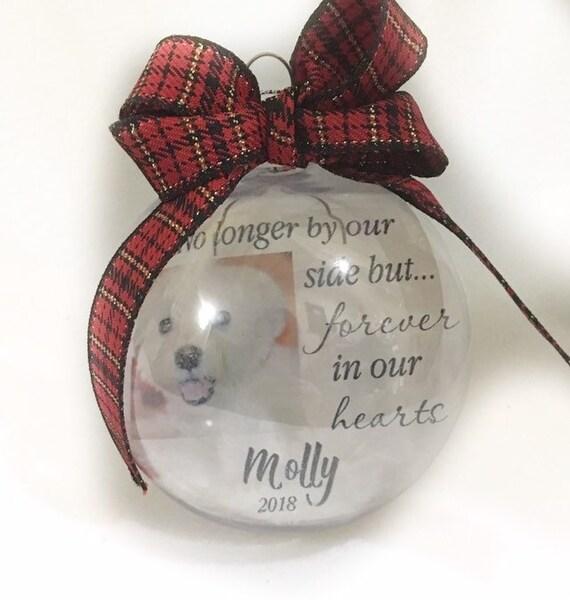 Dog Memorial Pet Loss Gift Christmas Ornament Memorial Ornament