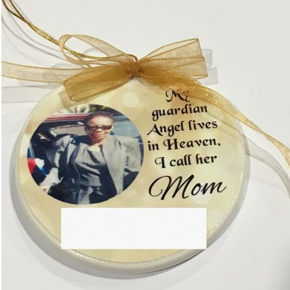 Loss of Mother Gift for Son, Memorial, Christmas, Ornament
