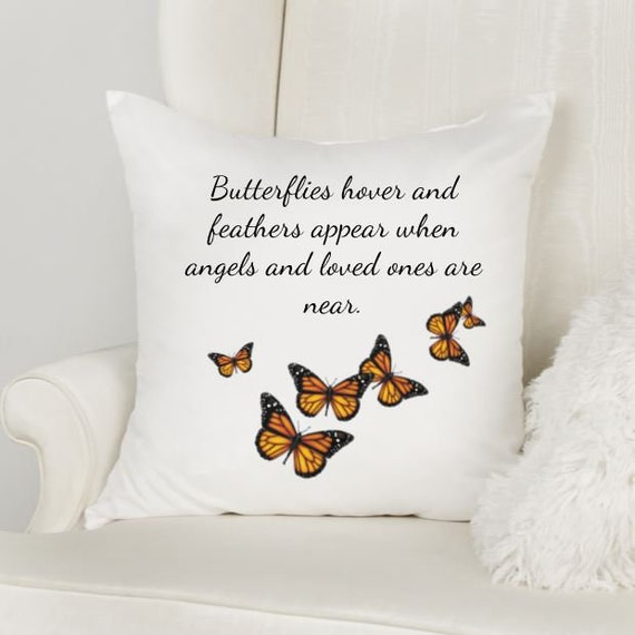 Memorial Gift for Loss of Mother, Memorial Pillow, Sympathy Gift