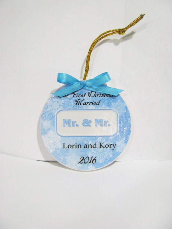 Gay Wedding Gift Gay wedding gift for gay couples First Christmas