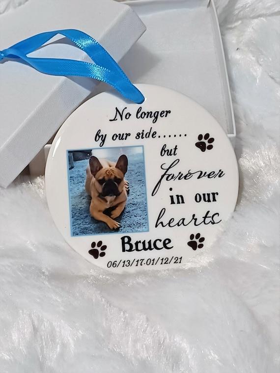 Pet Memorial Ornament, Christmas, Gift for Friend
