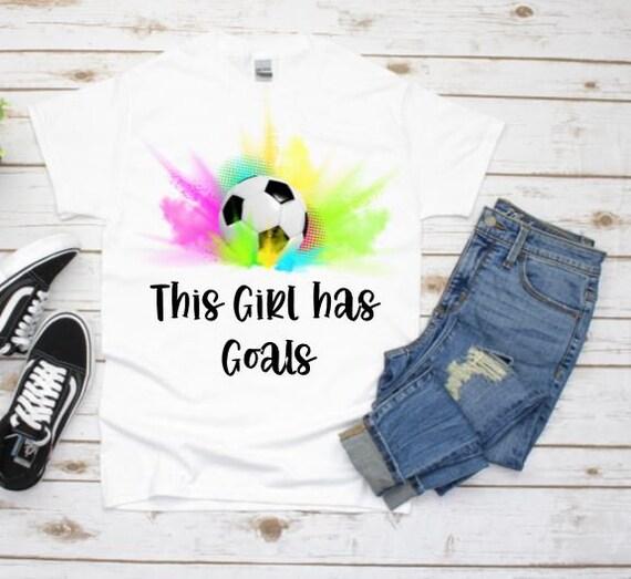 Soccer Shirt, Graphic Tee, Birthday Gift, Daughter Gift