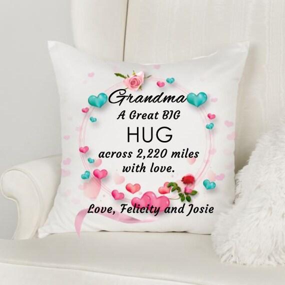 Personalized Grandma Pillow, Birthday, Grandma Gift