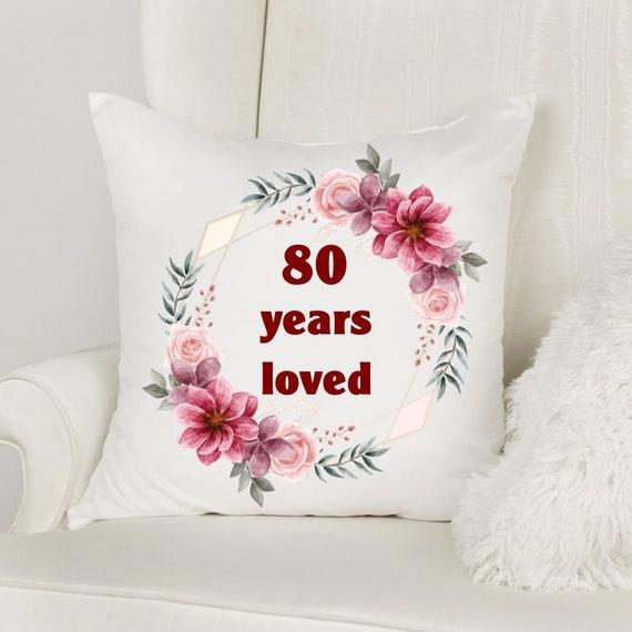 80th Birthday Gifts for Women, Birthday, Gift for Grandma