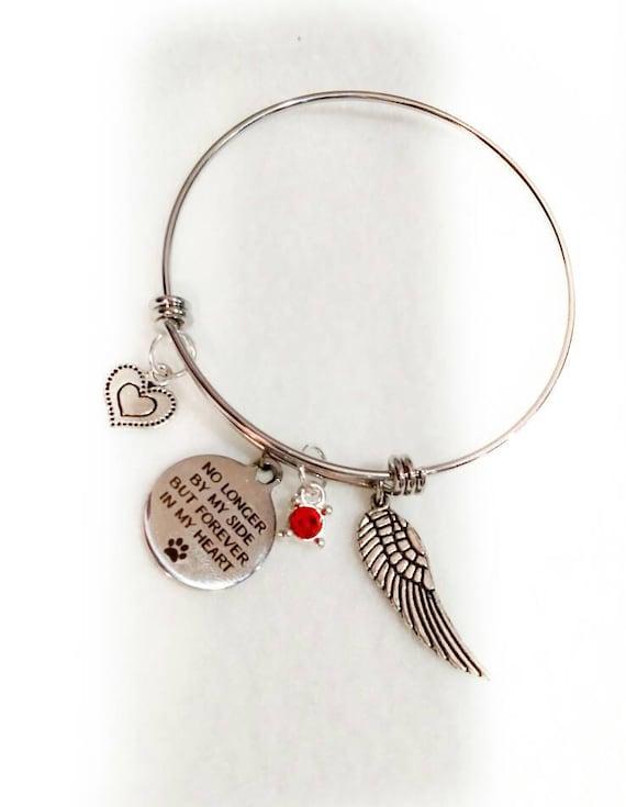Pet memorial memorial bracelet Pet memorial jewelry Pet Remembrance Pet Loss bracelet Dog Memorial Loss of Pet
