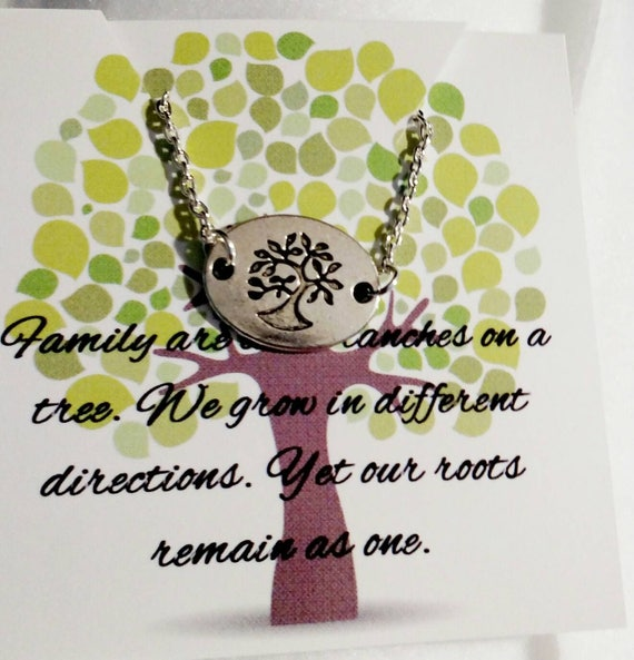 Family necklace  Gift for her Grandma necklace Mom necklace Gift for Mom