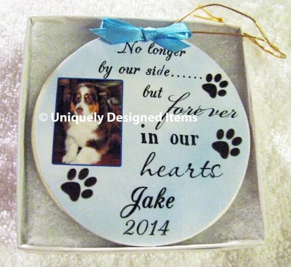 Pet Ornament - Pet Memorial Ornament - Pet Memorial - Christmas Ornament - custom ornament - pet gift - dog memorial - dog ornament