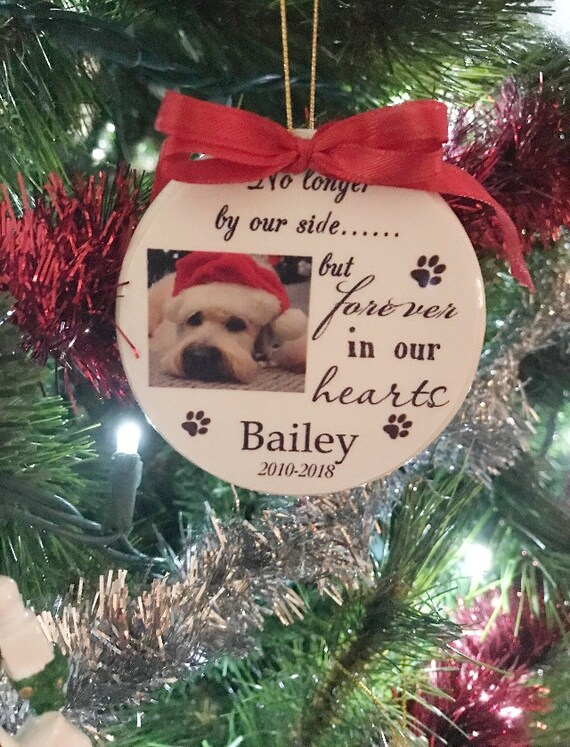 Personalized Pet Memorial Christmas Ornament, Christmas, Gift for Family