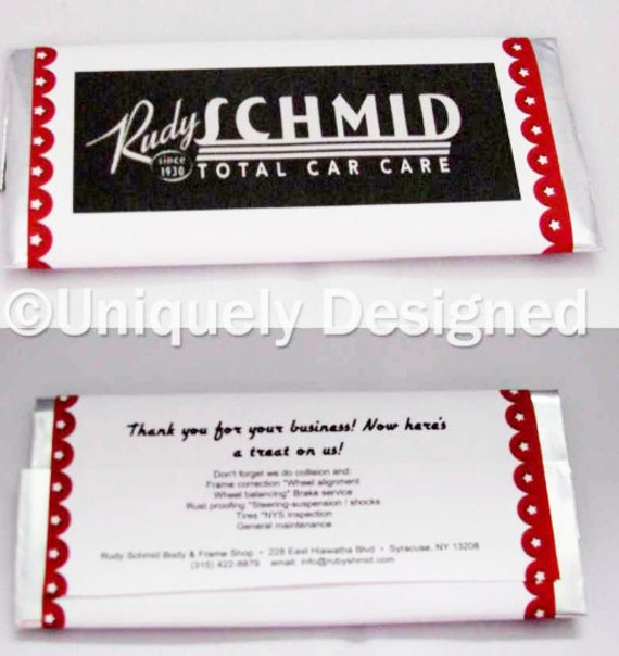 custom promotional chocolate business products with no minimum order
