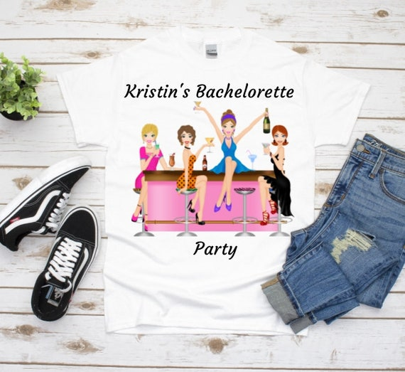 Bachelorette Party Shirt Friends, Wedding, Girlfriend Gifts
