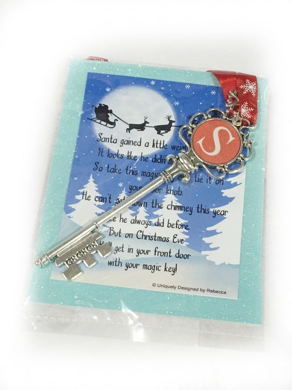 Santa Key - Christmas - Magic Key - Christmas Decoration - Santa - Christmas Gift - Christmas Eve - Magic Santa Key