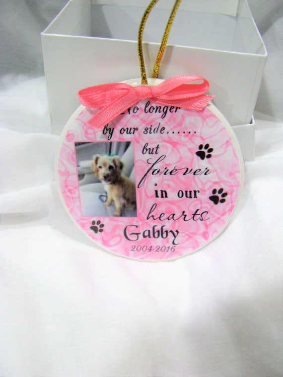 Personalized Pet Memorial Gift In Memory of your Dog Cat Horse Rabbit or any other pet in your life