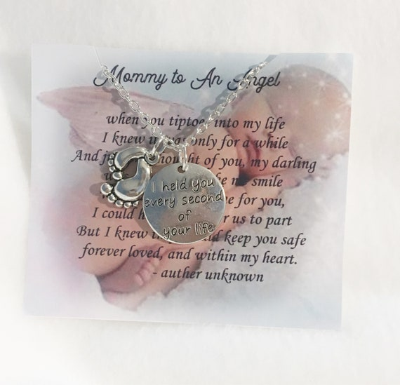 Pregnancy and Infant Loss Awareness Necklace Miscarriage Jewelry