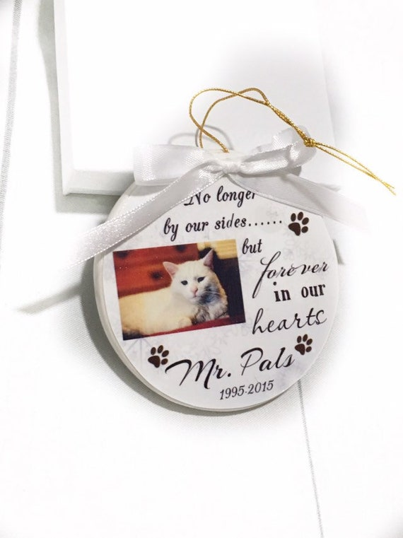Pet Memorial Ornament Unique Gifts Christmas