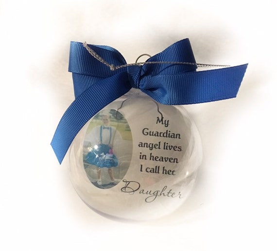 Personalized Christmas Memorial Ornament