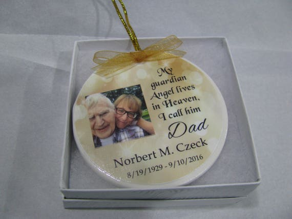 Heaven ornament Christmas ornament  In Memory of Memorial Ornament