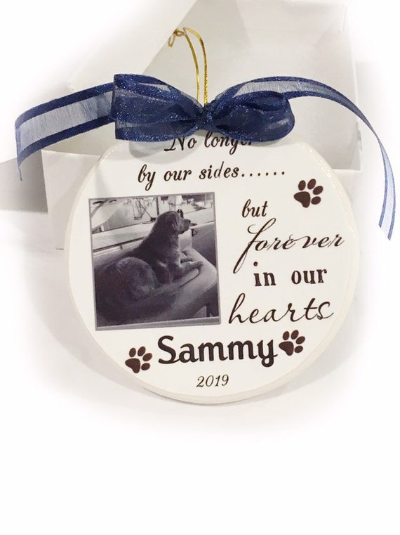 Personalized Pet Memorial Christmas Ornament, Christmas Gift, Gift for Her, Family Gift