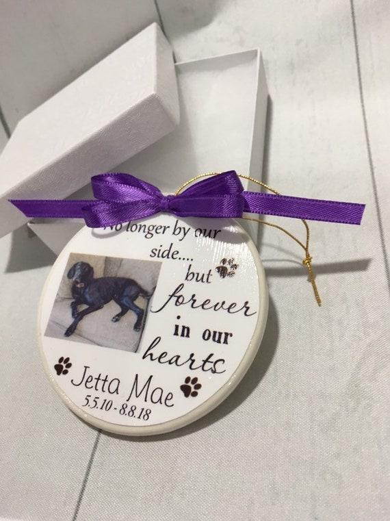 Pet Memorial Ornament, Christmas Gift, Family Gift, Gift for Women, Dog Memorial, Cat Memorial