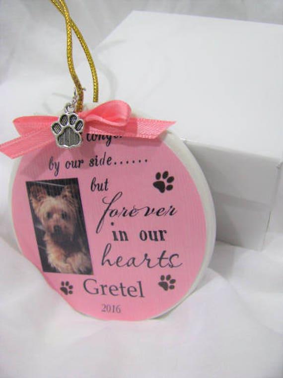 Memorial Ornament Pet Loss Gift Christmas ornament Pet Memorial