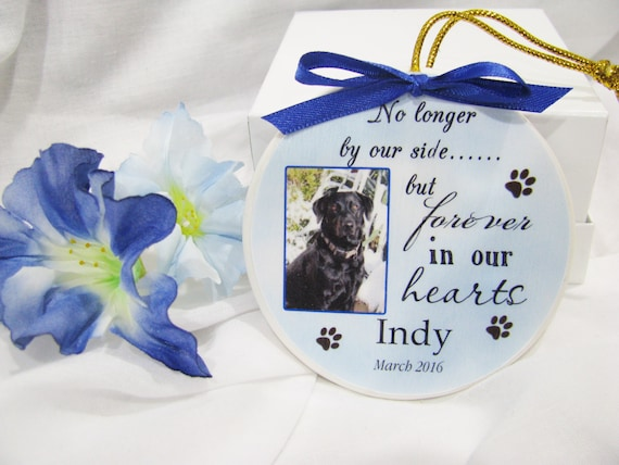 Pet memorial Christmas ornament Pet Remembrance Ornament  Christmas Ornament