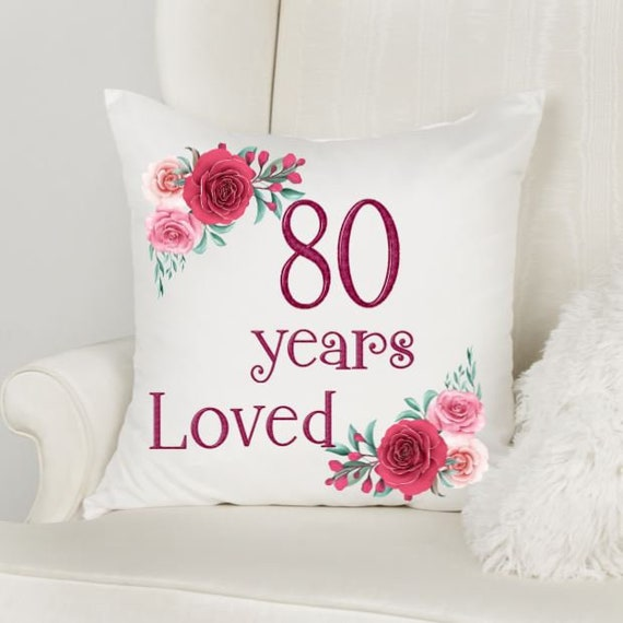 80th Birthday Gifts for Women, Birthday, Gift for Mom