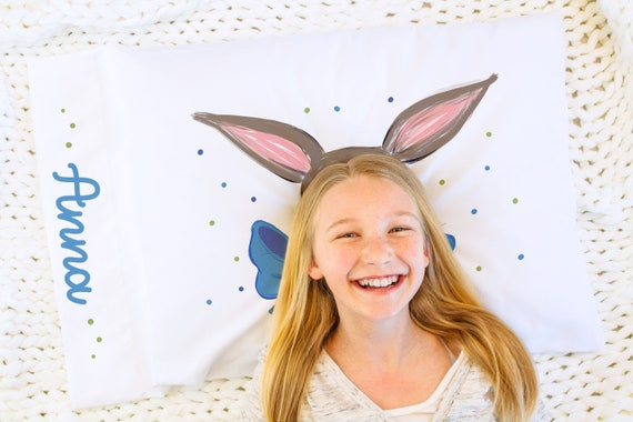 Personalized Easter Pillow Case, Easter, Daughter Gift