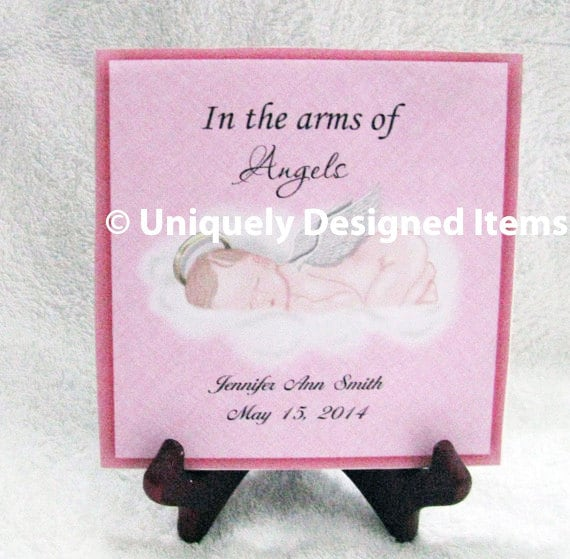 Miscarriage Memorial   in all colors with many angel babies