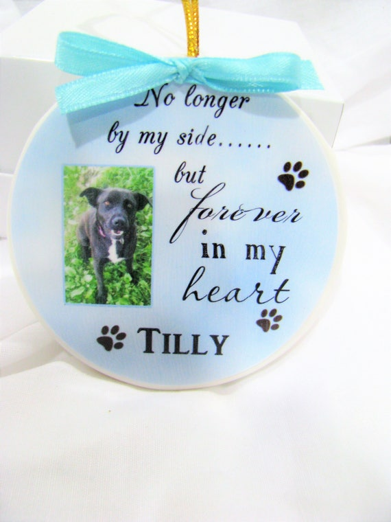 Pet Memorial  Pet Ornament Christmas ornament Memorial Ornament Pet Memorial Gift Personalized Gift Custom Ornament