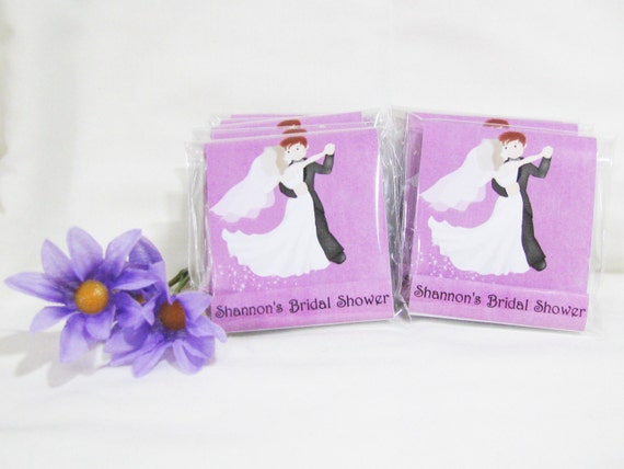 Bridal Shower Nail File Favors - Custom designed