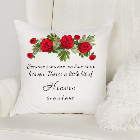 Memorial Gift for Loss of Father, Throw Pillow, Pillow Cover, Gift for Wife