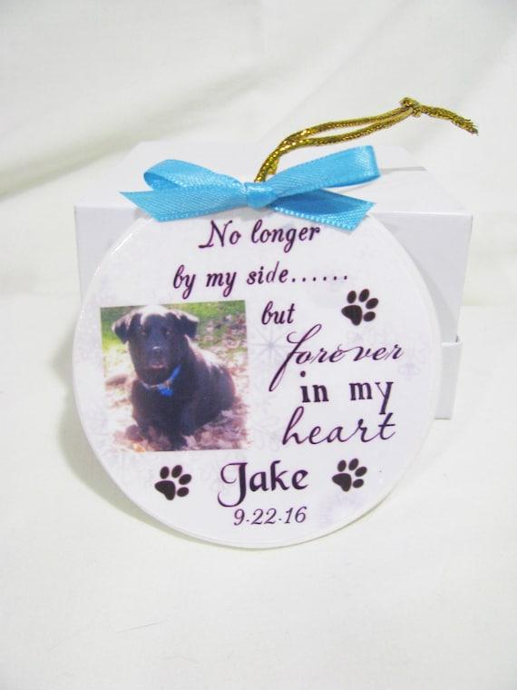 Personalized Pet Memorial Ornament, Dog Memorial, Cat Memorial,  Christmas Gift, Family Gift, Gift for her