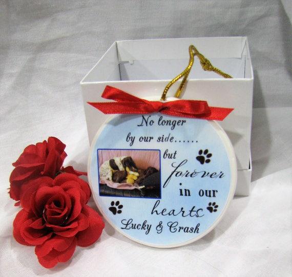 Pet memorial Memorial ornament Pet Memorial gifts Dog memorial gift Dog memorial Ornaments Christmas ornament Pet loss gifts ornament