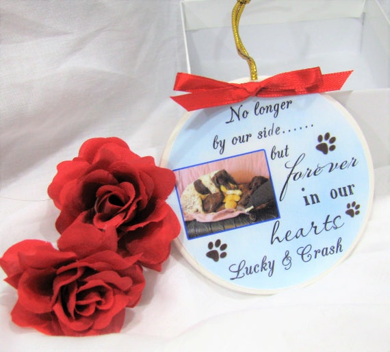 Pet Loss Gift Christmas Ornament Dog Memorial Ornament Dog Memorial