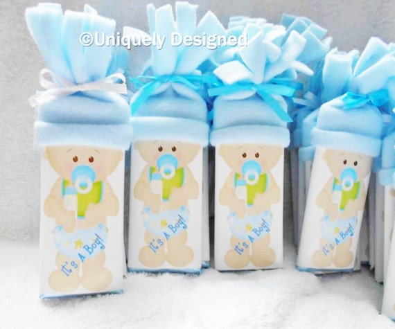 Baby Shower Favors Unique baby shower favors Baby bars: is it a boy or a girl?