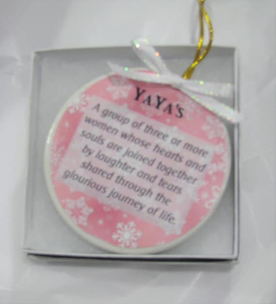 3 Best Friends Gift, 3 Sisters Gift, Christmas Ornament, Custom Ornament, Gift for Girlfriends