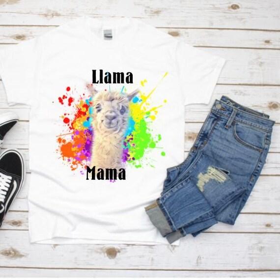 Mama Llama Shirt, Christmas, Gift For Mom