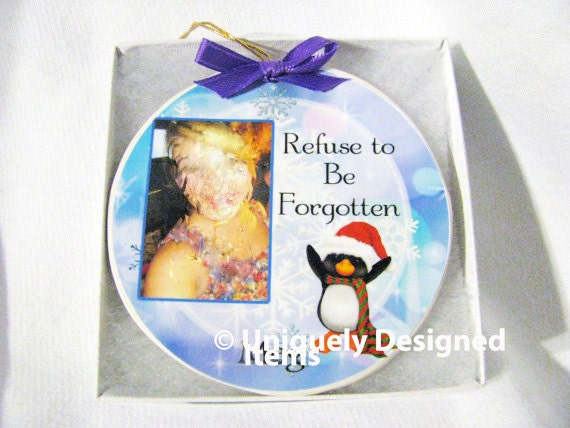 Memorial Ornament - Heaven In Our Home - Heaven Ornament - Sympathy Gift - Christmas Ornament - In Loving Memory