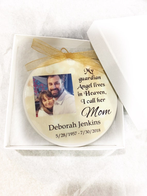 Christmas ornament - In Memory of - Memorial Ornament - Memorial Gift- Sympathy Gift