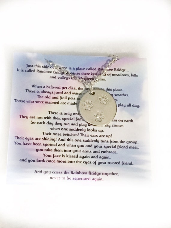 Pet Memorial Dog Memorial Pet loss Gift Pet Memorial Jewelry