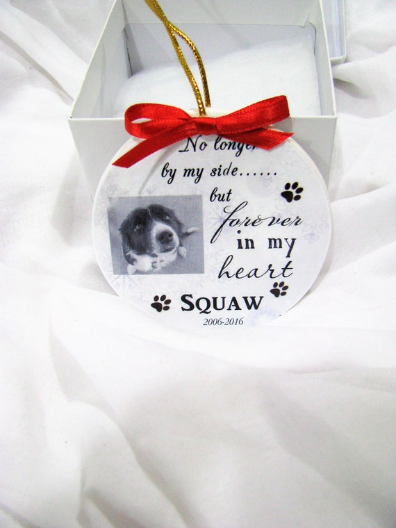 Pet memorial Ornament Personalized and unique gift