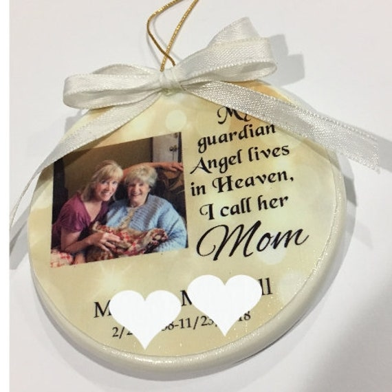 Memorial Ornament, Christmas, Gift for Loss of Mother