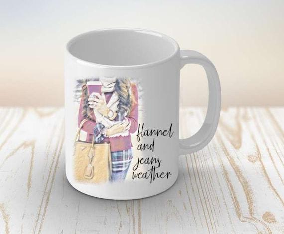 Autumn Mug | Sweater Weather | Fall Mug | Coffee Mug | Pumpkin Spice | Fall Decor | Thanksgiving mug