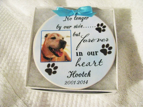 Pet Memorial Ornament, Dog Memorial, Christmas Gift, Family Gift, Gift for Her