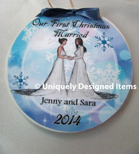 Lesbian wedding gift lesbian couple gay wedding gift lesbian wedding lesbian gift wedding gift Mrs and Mrs Gay wedding Lesbian engagement
