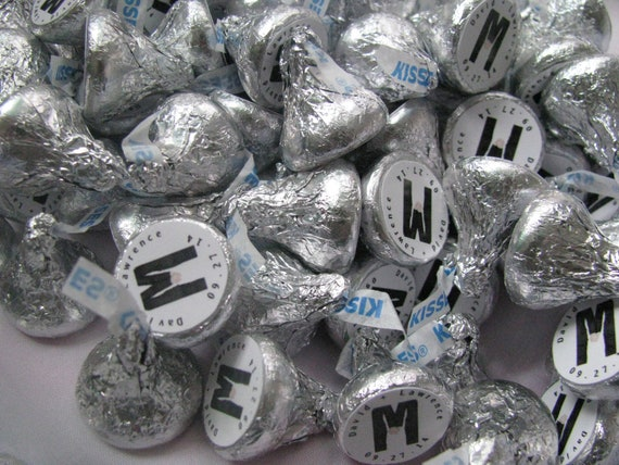 Gay Wedding, Wedding Favors, Personalized Kisses, Thank You Gifts