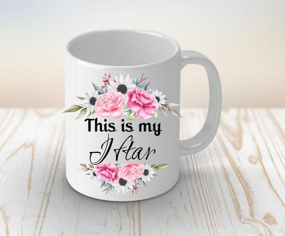 Eid Mubarak, Islam Coffee Mug, Ramadan, Gift for Girlfriend