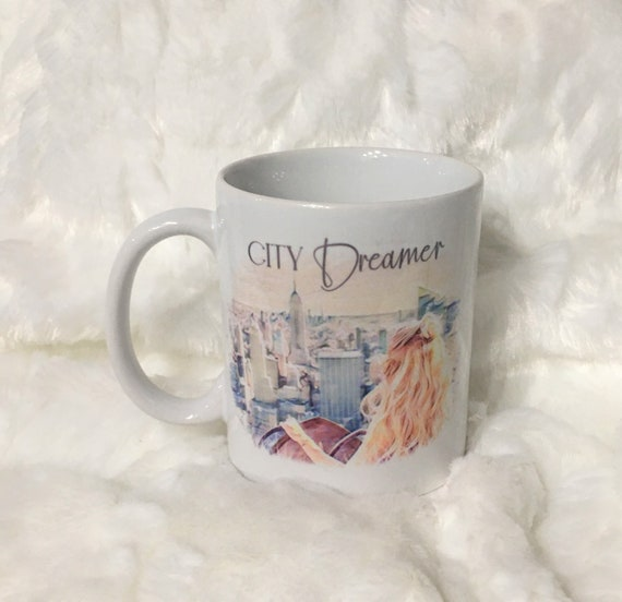 21st Birthday Gift for Her, Coffee Mug, City Girl, Gift for Best Friend