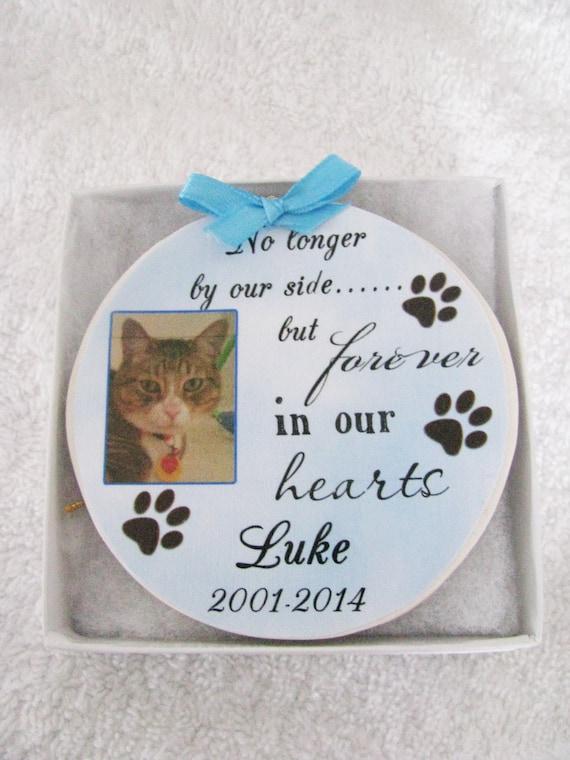 Cat Memorial Christmas Ornament, Christmas Gift, Family Gift, Gift for her, Gift for him, Cat lover Gift